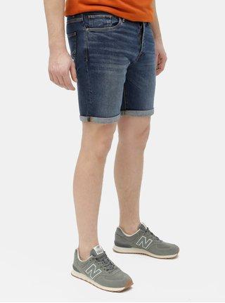 Modré džínové kraťasy Selected Homme Halex