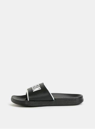 Černé dámské pantofle Calvin Klein Underwear
