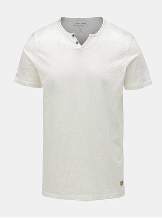 Krémové tričko Jack & Jones