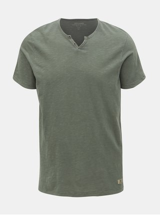 Zelené tričko Jack & Jones Ben