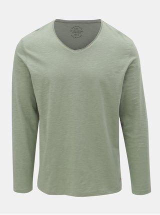 Zelené tričko Jack & Jones Birch