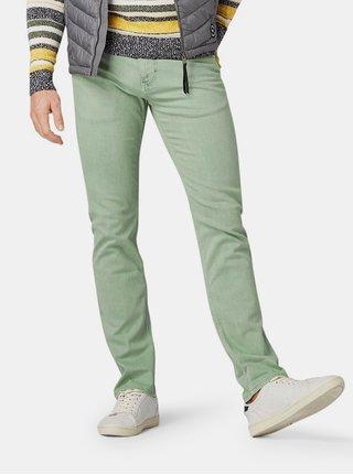 Světle zelené pánské slim fit džíny Tom Tailor