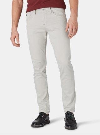 Světle šedé pánské slim fit džíny Tom Tailor Denim