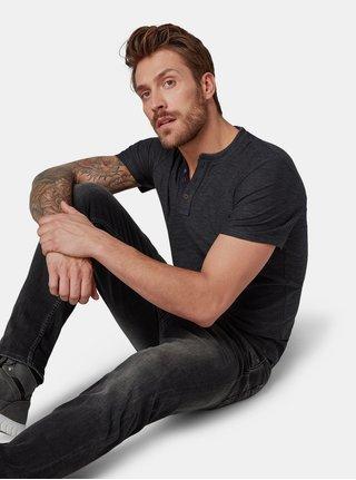 Tmavě šedé pánské tričko Tom Tailor