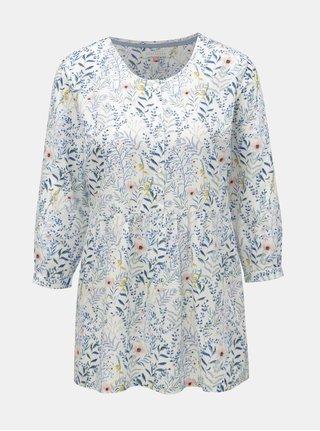 Bluza alba florala Brakeburn Botanical