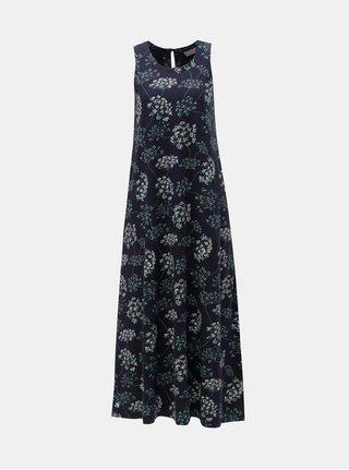 Rochie maxi albastru inchis florala Brakeburn Cow Parsley