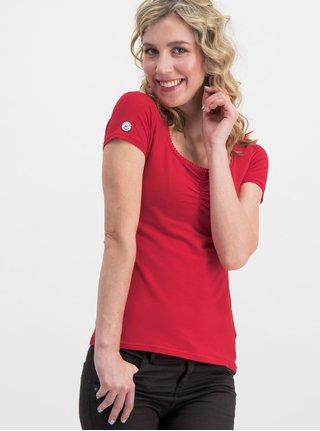 Tricou rosu Blutsgeschwister Logo