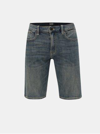 Pantaloni scurti albastri regular fit din denim Quiksilver