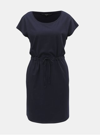 Tmavě modré šaty s kapsami VERO MODA April
