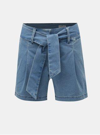 Pantaloni scurti albastri de dama din denim Cross Jeans Sophie