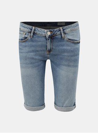 Pantaloni scurti albastri de dama din denim Cross Jeans Amy