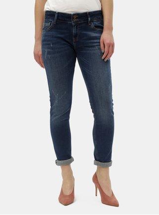 Tmavě modré dámské skinny fit džíny Cross Jeans Melinda