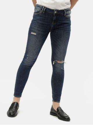 Tmavě modré dámské skinny fit džíny Cross Jeans Giselle