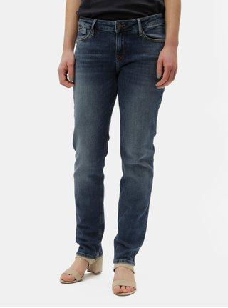Blugi albastru inchis regular fit de dama Cross Jeans Rose