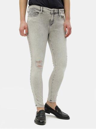 Blugi gri deschis skinny fit de dama Cross Jeans Alyss