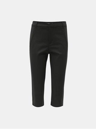 Pantaloni 3/4 negri VERO MODA Victoria