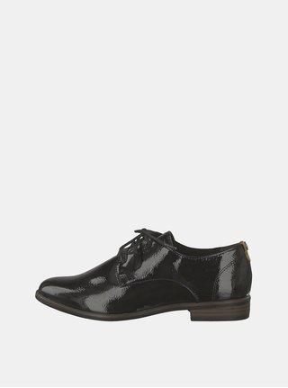 Pantofi negri luciosi Tamaris Caraway