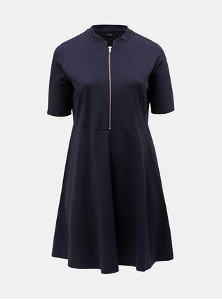 Tmavomodré šaty Zizzi Edita
