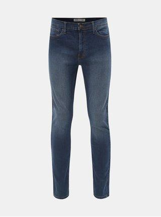 Tmavě modré skinny fit džíny Burton Menswear London