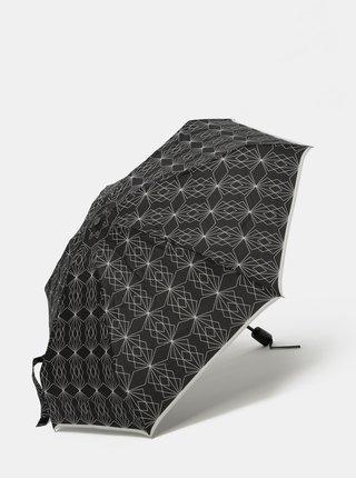 Umbrela neagra cu model Doppler