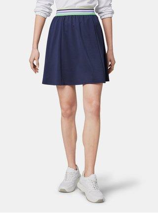 Tmavě modrá sukně Tom Tailor Denim