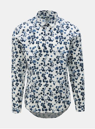 Camasa alba florala Lindbergh
