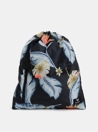Sac negru floral Roxy Light As a Feat 14.5 l
