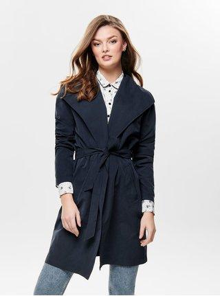 Tmavomodrý kabát Jacqueline de Yong Ida