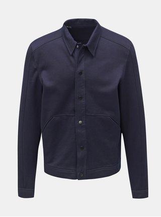 Jacheta albastru inchis lejera Selected Homme Matt