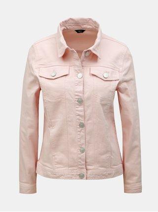 Jacheta roz din denim M&Co