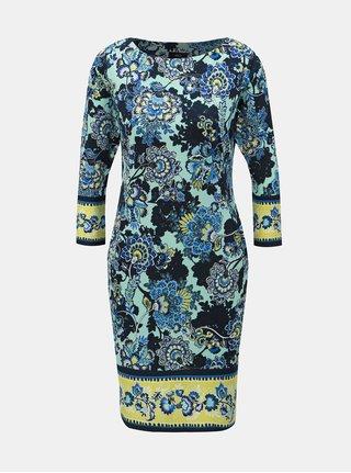 Rochie albastra florala M&Co