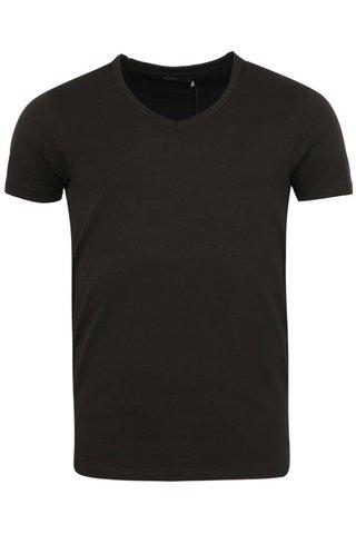 Tricou negru basic Jack & Jones