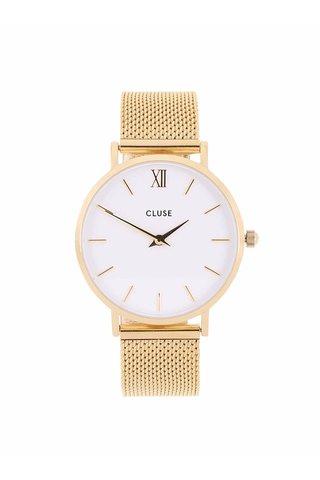 Ceas  auriu pentru femei - Cluse Minuit