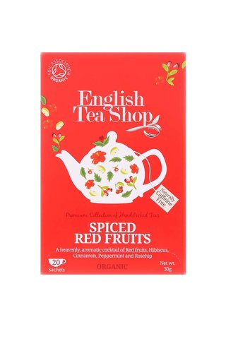 Ceai organic din fructe rosii condimentate - English Tea Shop