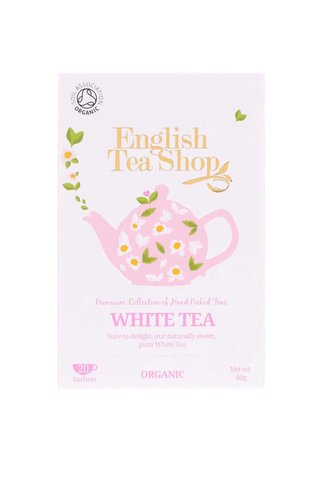Ceai alb pur English Tea Shop Bio