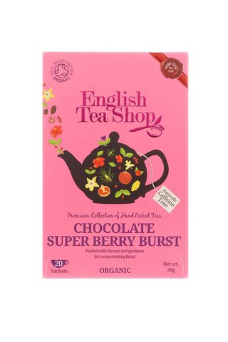 Ceai organic din ciocolata si fructe de padure  English Tea Shop