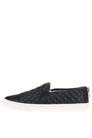 Pantofi slip on negri GEOX New Club de dama