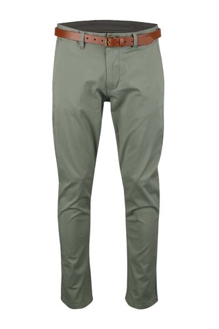 Pantaloni chino kaki Selected Homme Yard slim fit