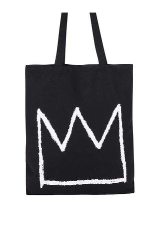 Geanta de panza cu print coroana ZOOT Original Basquiat