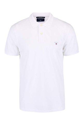 Bílé pánské polo tričko GANT Original Pique