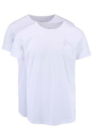Set 2 tricouri GANT albe