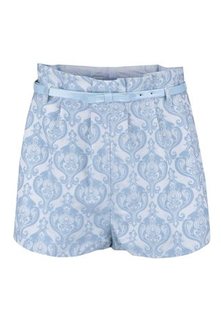 Pantaloni scurti cu imprimeu Anna Smith albastri