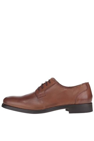 Pantofi maro din piele - Selected Homme Oliver