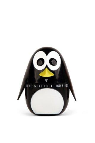 Timer de bucatarie Kikkerland in forma de pinguin
