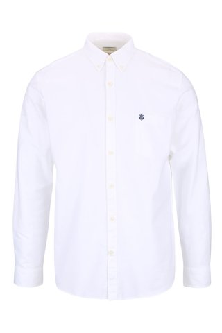 Camasa alba Selected Homme Collect din bumbac