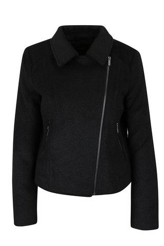 Černý kratší kabát  VILA