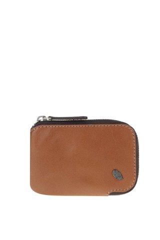 Portofel mic maro deschis din piele - Bellroy Card Pocket