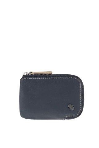 Portofel mic bleumarin din piele pentru barbati - Bellroy Card Pocket