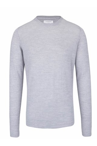 Bluza gri deschis Lindbergh cu model discret