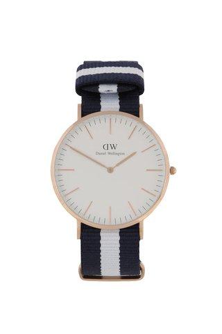 Pánské hodinky ve zlaté barvě CLASSIC Glasgow Daniel Wellington